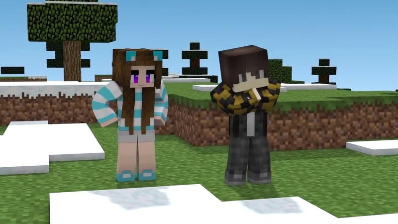 Minecraft Songs: PG 15 and 18 He's No Good Die For You ♫ Hacker and Lilly saga!