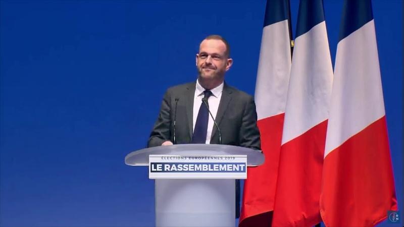 Grande convention des élections européennes : discours de Steeve Briois