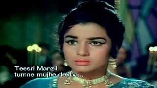 Teesri Manzil 1966 Tumne Mujhe Dekha Mohammed Rafi 1080p HD
