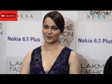 KANGANA RANAUT FULL INTERVIEW #Bollywood #Lakme_Fashion_week #kangana_ranaut
