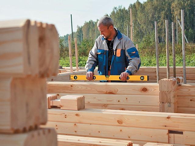 Различные виды древесины для строительства дома