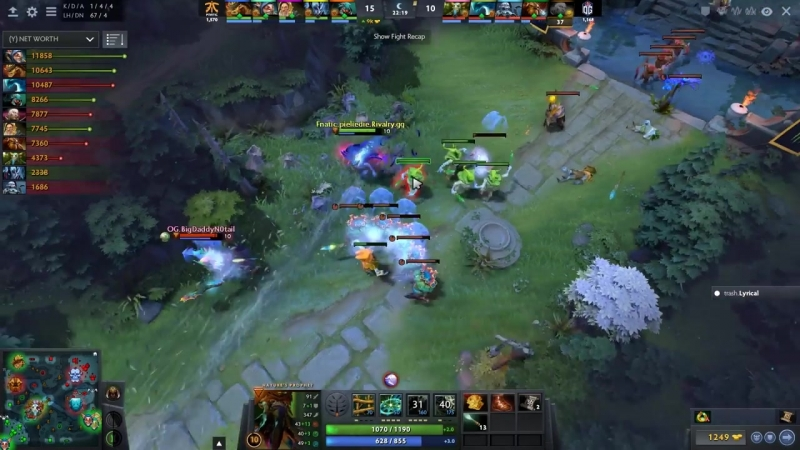 Abed Meepo GOD First Time On The International 2018 - Fnatic vs OG - TI8 Dota 2