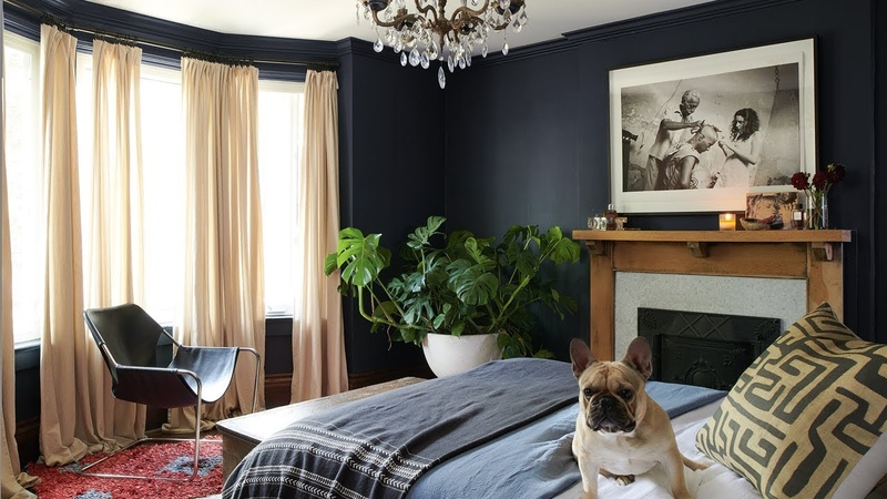 Room Tour | This Moody Master Bedroom Is A Boho Oasis! || House Home