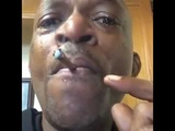 OMG! Man bursts into tears crying because his weed is too good.