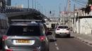 Driving from Ramallah to Tel Aviv
