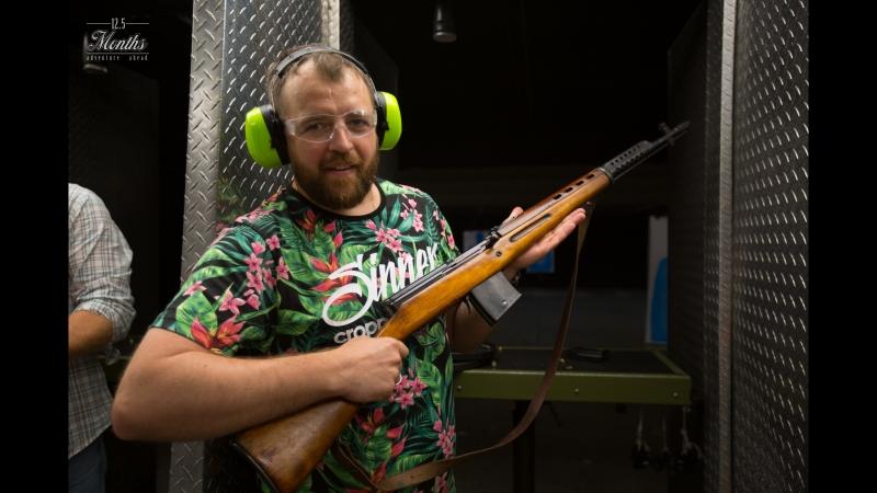 Пострелял из СВТ-40. В рубрику Стрелковое оружие ВОВ. Отличный аппарат с приличной отдачей. Работает прекрасно. Кладет кучно.