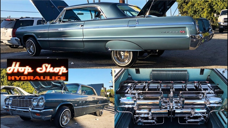 Kay from the door Extremly clean 64 impala (watch in 4k/HD)