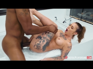 Kleio Valentien [HD 1080, Cowgirl, Doggystyle, Deep Throat, Face Fuck, Interracial, Squirt, Tattoo, 2018]