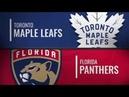 Флорида Пантерз - Торонто Мэйпл Лифс Обзор матча NHL 19 января 2019