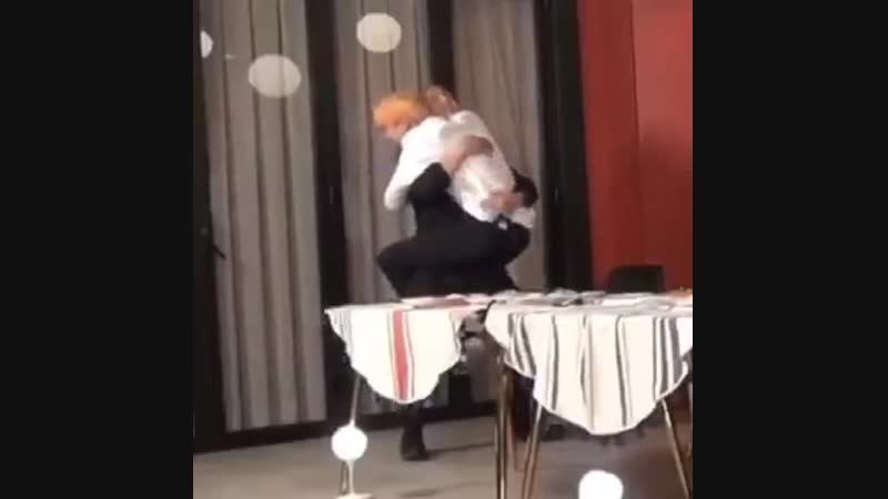 JUNGKOOK REALLY LIFTED JIN UP AND CARRIED HIM LIKE A BABY IM SO SOFT