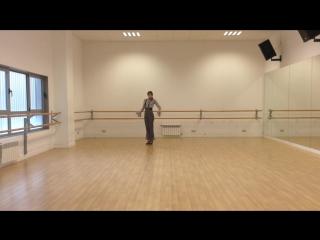 Фаррука - репетиция. Нина Рубан