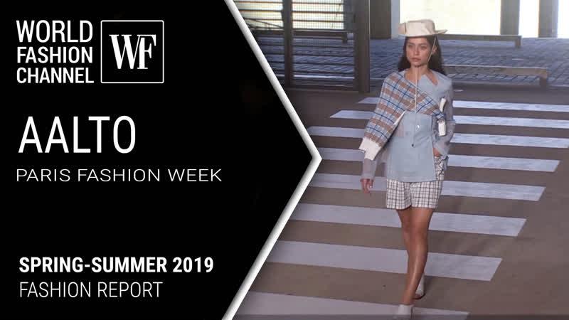 AALTO Spring-Summer 2019 | Paris Fashion Week