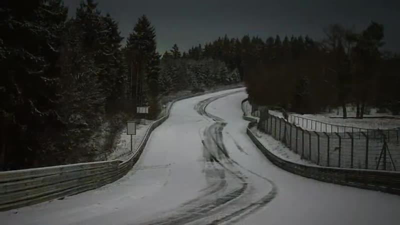 NÜRBURGRING SNOW FUN During Winter Closure! Nordschleife in Hibernation )