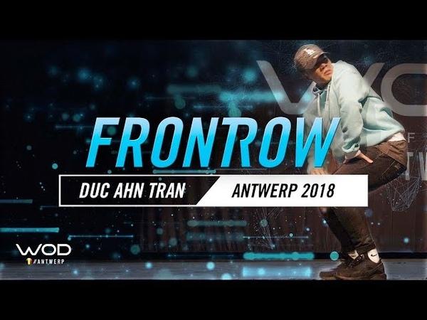 Duc Anh Tran   FrontRow   World of Dance Antwerp Qualifier 2018