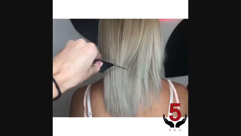Ботокс для волос с тонирующим эффектом 🌟