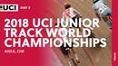 2018 UCI Junior Track World Championships Aigle CHE Day 5