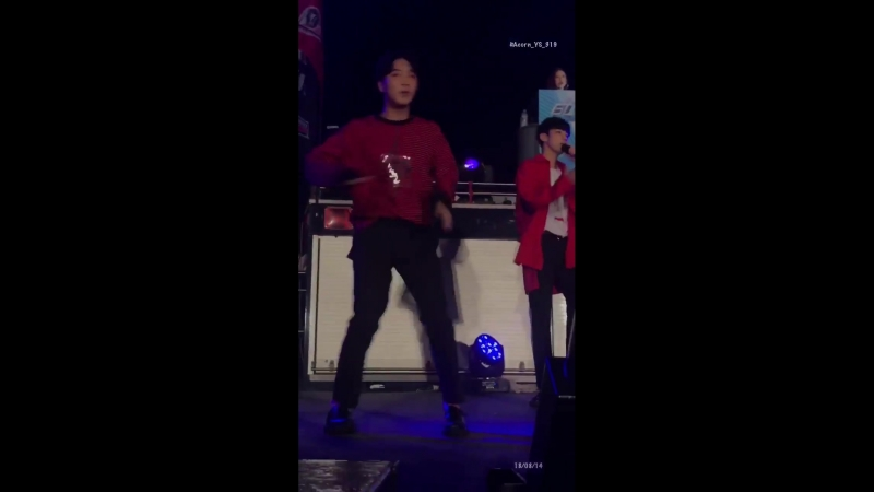 20180814 WaterBlock Pohang Event - Without U (Yunsung focus)