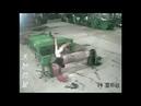 Trabajador sufre atrapamiento en maquina rotativa imagen fuerte
