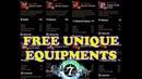 Epic Seven - FREE UNIQUE EQUIPMENTS!