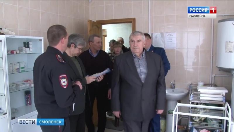 Общественники проверили условия в смоленских ИВС