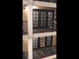 Эстафета в отеле