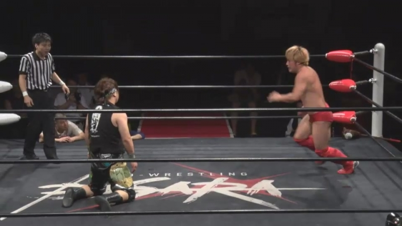 Ryota Nakatsu vs. Yasu Urano (BASARA - Heaven Summit Itadaki 2018 Semi-Finals)