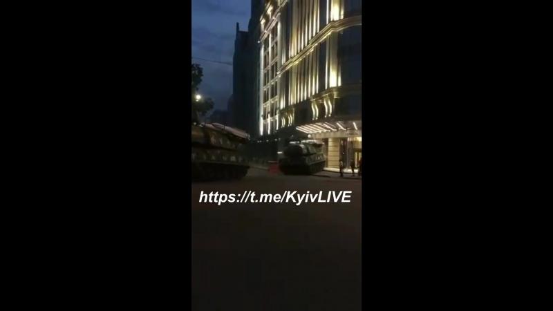 Украинский «Бук» протаранил бизнес-центр в Киеве