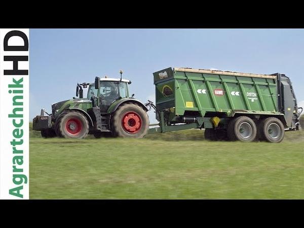 FENDT 724 Traktor | HAWE DST Streuer Produktvideo | JCB Teleskoplader