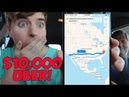 2,256 Miles In One Uber Ride (World Record)