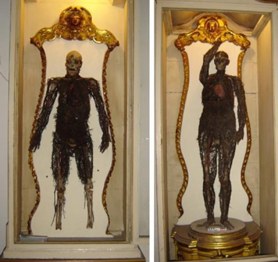 Невероятная история капеллы Сансеверо и алхимика Раймондо ди Сангро. Капелла Сансеверо в Неаполе знаменита необъяснимой сюрреалистической пластичностью скульптур непревзойденной красоты,