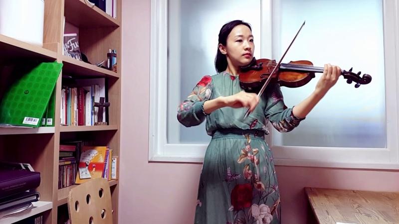 스즈키 3권 드보르작 유모레스크 초급 바이올린 배우기 바이올린 강사 김민 512