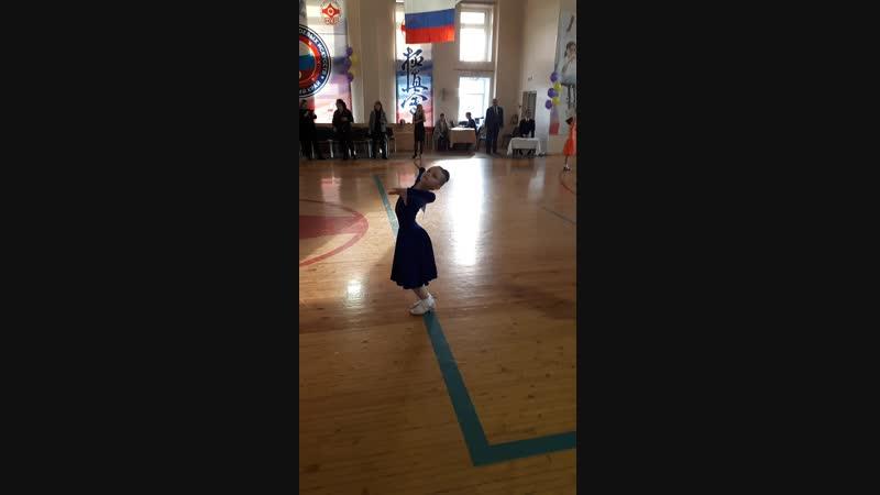 Каткова Варвара ( кубок 4-х танцев) 05.11.2018.