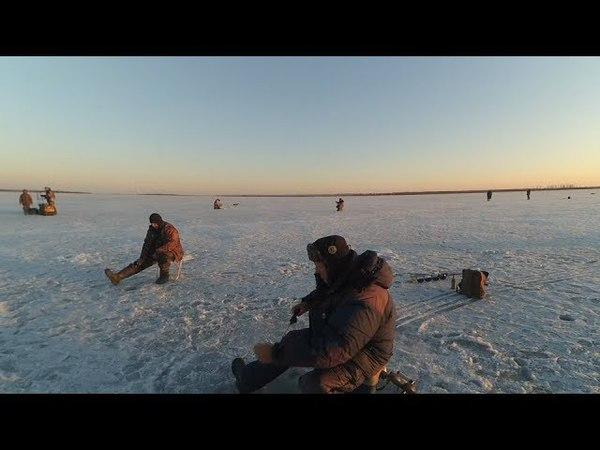 Последний лёд. Рыбалка в селе Новый Мелькен.