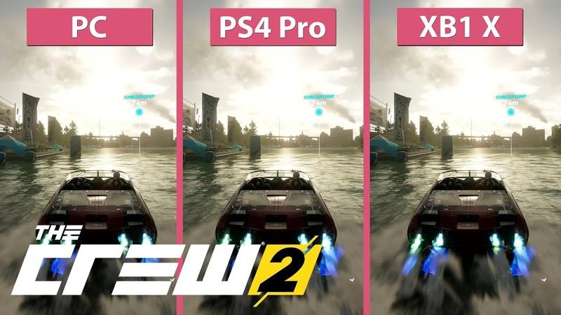 [4K] The Crew 2 – PC Max vs. PS4 Pro vs. Xbox One X Graphics Comparison Open Beta