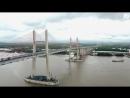 Một ngày trước khi thông xe nhìn toàn cảnh cao tốc Hạ Long Hải Phòng và cầu Bạch Đằng gần 15 nghìn tỷ từ trên cao