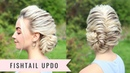 Fishtail Updo by SweetHearts Hair