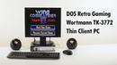DOS Retro Gaming on the Wortmann Terra Termtek TK-3772 Thin Client Mini PC PC
