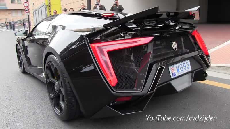 $3,4m Lykan Hypersport on the road! Sound