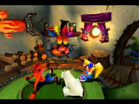 Crash Bandicoot 3: Warped (Лисы)