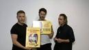 """The Band - Das Musical on Instagram """"🕺🏻🕺🏻🕺🏻EXKLUSIVES GEWINNSPIEL🕺🏻🕺🏻🕺🏻Im September haben uns Gary, Mark und Howard ein paar Logoboards unterschri..."""
