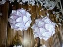Бант в школу на первое сентября канзаши. Цветы Канзаши. Канзаши.