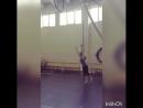 Учебное видео для обучения техники исполнения - маховое через колесо в рапиде