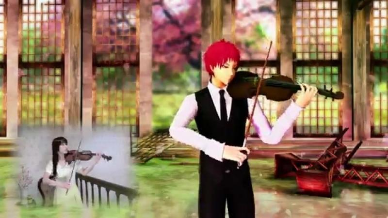 Akashis Violin (Short Vers.) MMD