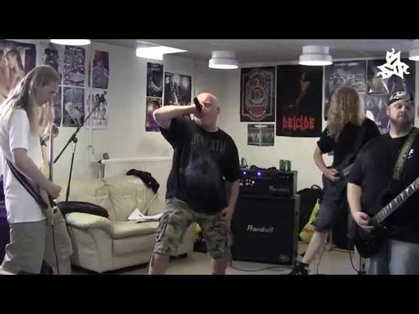 Six String Slaughter Born Unspoiled rehearsal footage