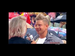 Митя Фомин на ковровой дорожке «Премии Муз-ТВ 2018. Трансформация»