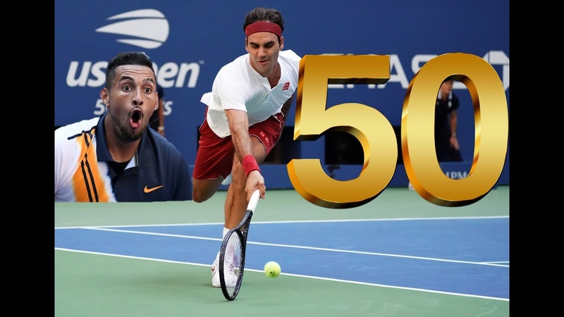 Atp Tennis| 50 Amazing Points of The Year 2018