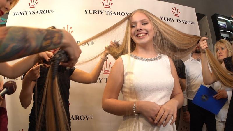 Дівчинка з найдовшим в Україні волоссям претендує на світовий рекорд