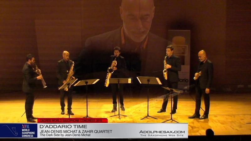 The Dark Side by Jean Denis Michat Zahir Quartet Jean Denis Michat XVIII World Sax Congress 20