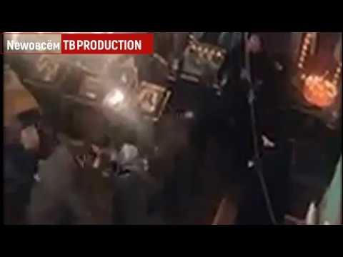 Драка архиепископа и протоиерея в украинской церкви попала на видео. Битва УПЦ против КП