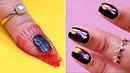 Salon Style Manicure At Home | DIY Nail Hacks Nail Art Tutorials by Blusher